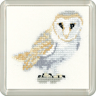 Barn Owl Coaster Kit - Heritage Crafts