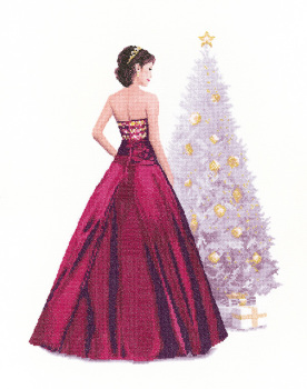 Holly - John Clayton  Elegance Cross Stitch
