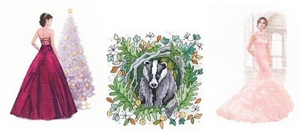 New Cross Stitch designs September 2018