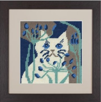 Bella Cat Tapestry - Katrin Eagle
