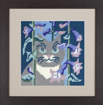 Smokey Cat Tapestry - Katrin Eagle