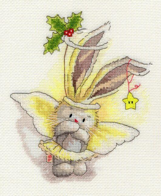 Angel - Bebunni Collection Cross Stitch