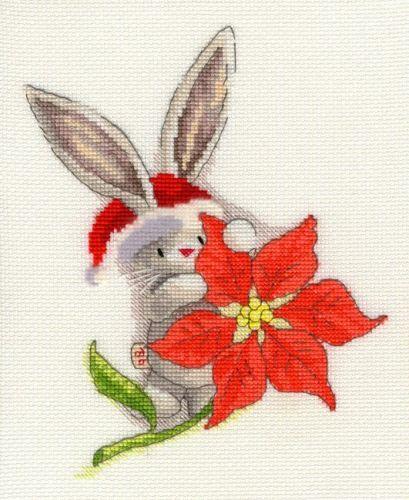 Poinsettia - Bebunni Collection Cross Stitch