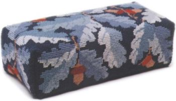 Blue Acorns Tapestry Doorstop Kit (Plain Canvas)