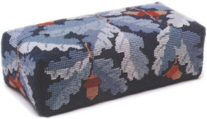 Blue Acorns Tapestry Doorstop Kit (Charted)