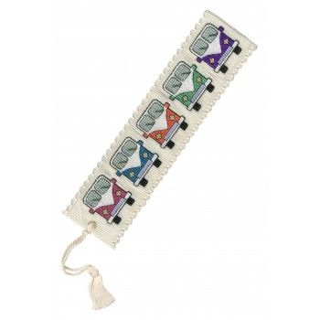 Campervan Cross Stitch Bookmark