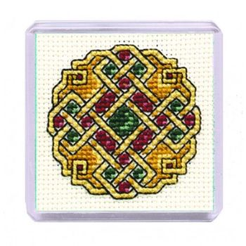 Celtic Jewel Cross Stitch Magnet
