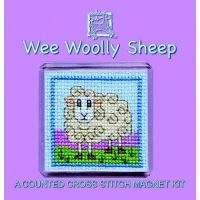 Wee Woolly Sheep Cross Stitch Magnet