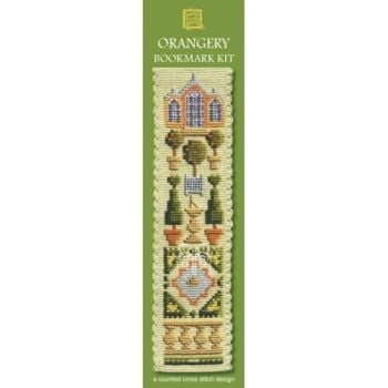 Orangery Cross Stitch Bookmark