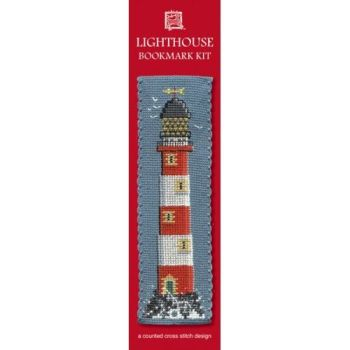 Lighthouse Cross Stitch Bookmark