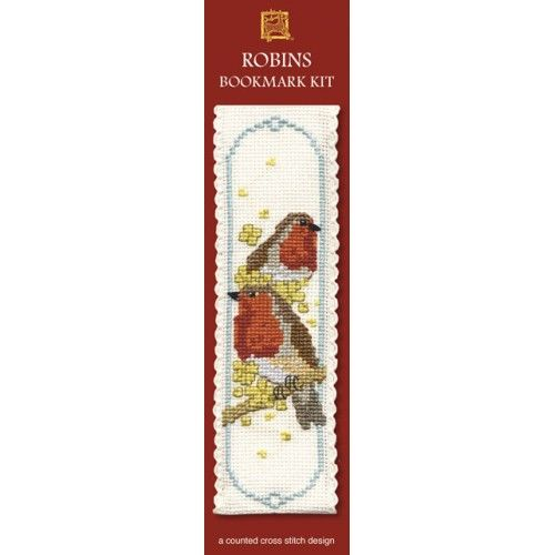 Robins Cross Stitch Bookmark