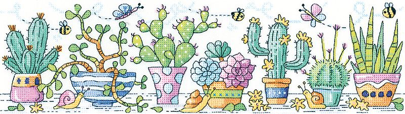 Cactus Garden - Heritage Crafts