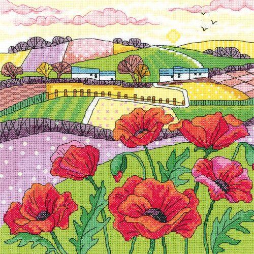 Poppy Landscape - Heritage Crafts
