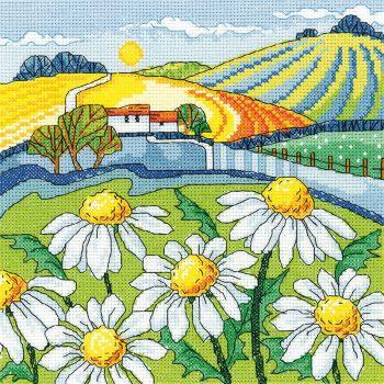 Daisy Landscape - Heritage Crafts