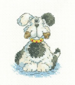 Patch Dog - Simply Heritage Cross Stitch