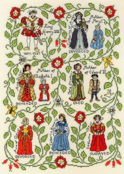 Henry VIII Sampler -  Bothy Threads