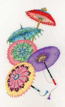 Parasols - Bothy Threads Cross Stitch