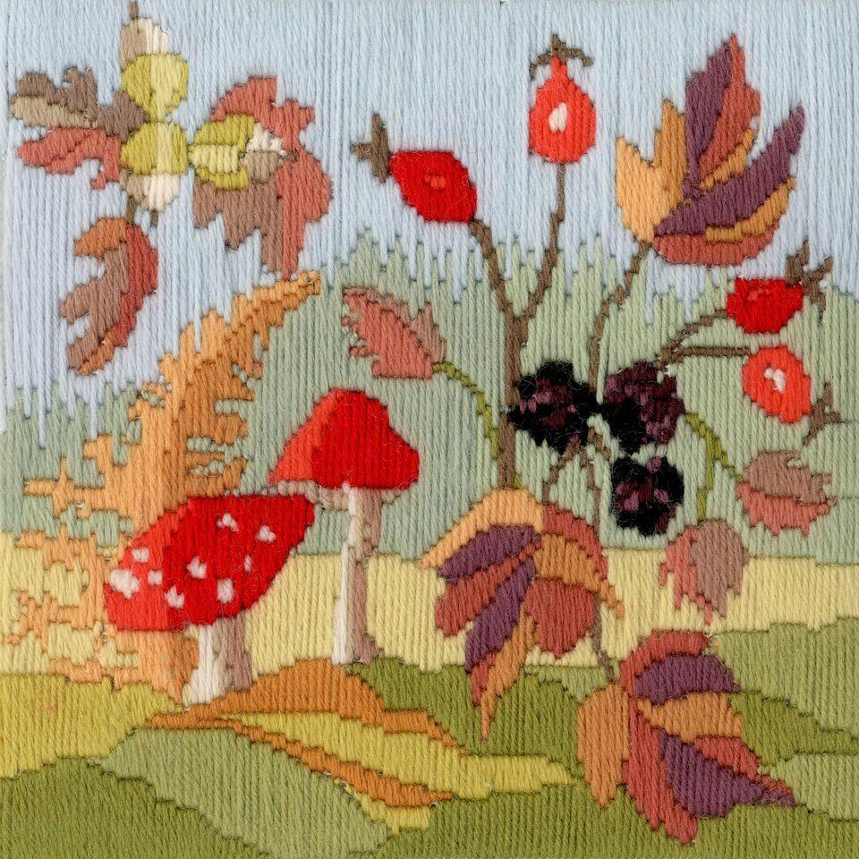 Autumn - Wool Long Stitch