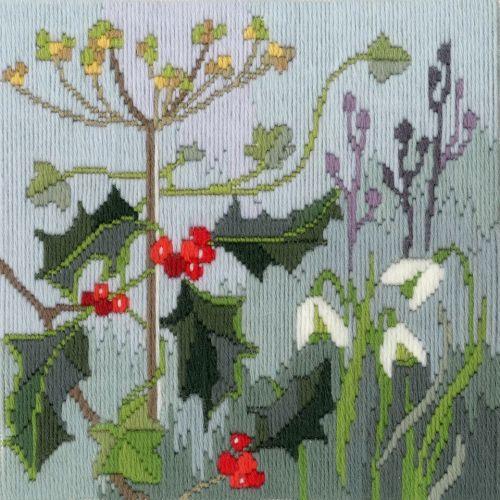 Winter - Wool Long Stitch