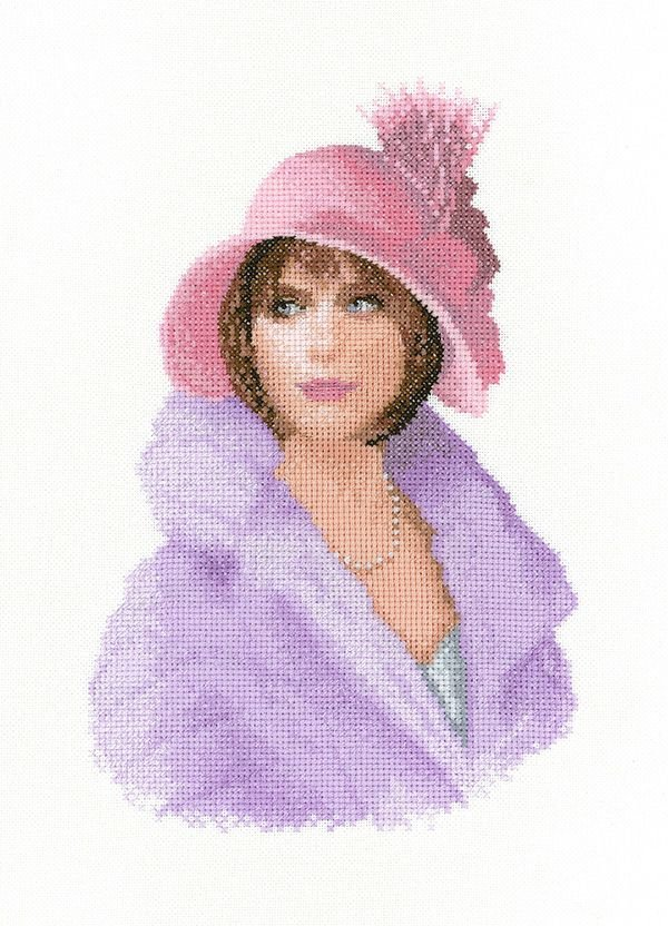 Harriet - John Clayton  Elegance Cross Stitch