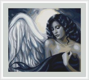 Seductive Angel - Petit Point Kit - Luca-S