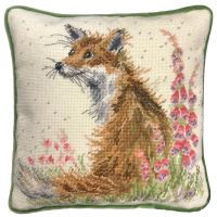 Amongst The Foxgloves Tapestry - Hannah Dale