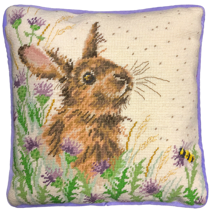 The Meadow Rabbit Tapestry - Hannah Dale (Bothy Threads).