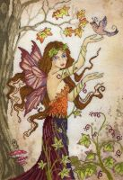 Autumn Song Fairy - Enchanted Series