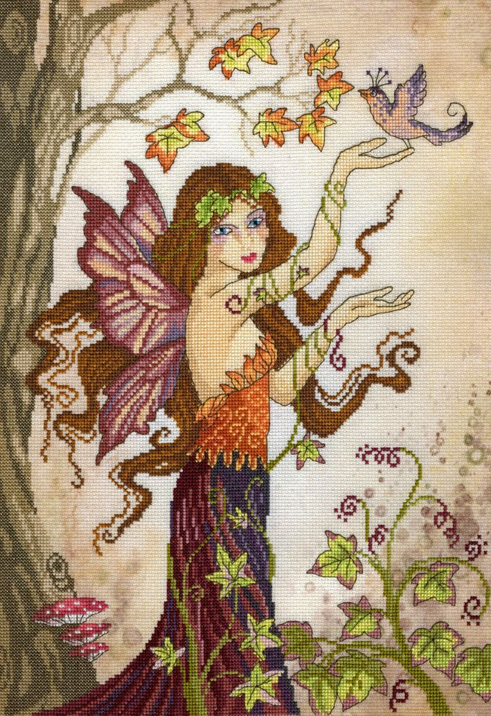 Autumn Song Fairy - Enchanted Series - Bothy Threads Cross Stitch