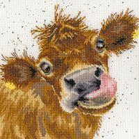 Moo Cow Cross Stitch - Hannah Dale