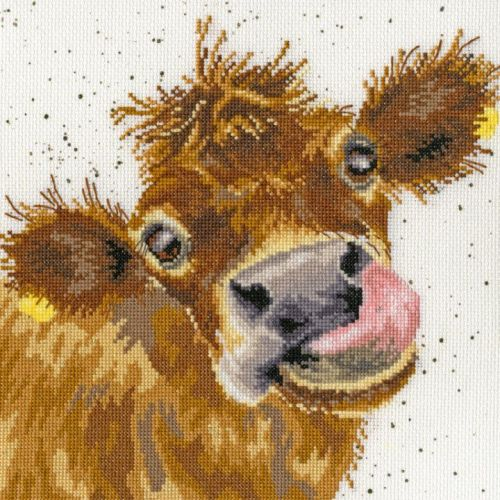 Moo Cow Cross Stitch - Hannah Dale