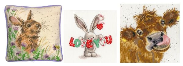 New cross stitch and tapestry designs Feb 2019