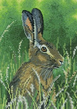 Hare Cross Stitch - Nigel Artingstall