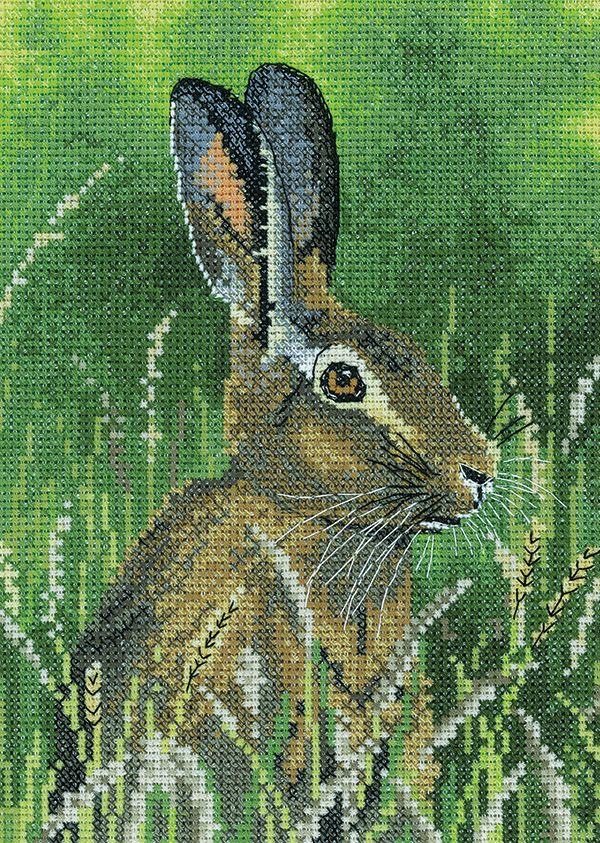 Hare Cross Stitch - Nigel Artingstall