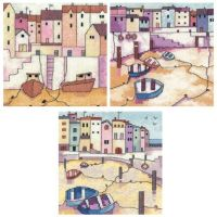 Painted Harbours Set of 3 - Heritage Crafts