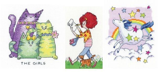 Heritage Crafts New Cross Stitch Kits