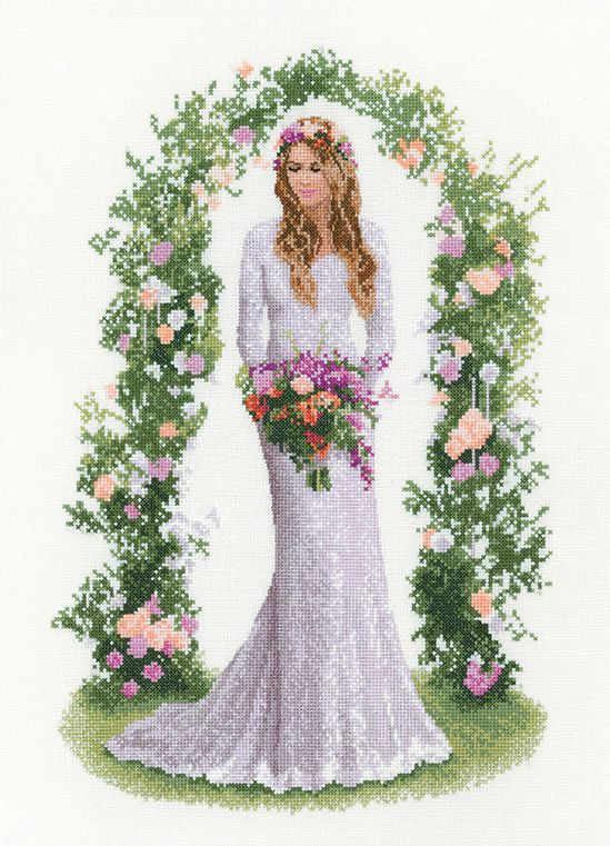 Laura - John Clayton  Elegance Cross Stitch