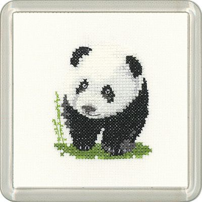Panda Coaster Kit - Heritage Crafts