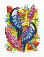 Toucan Cross Stitch - Heritage Crafts