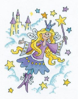Fairy Princess Cross Stitch - Heritage Crafts