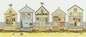 Beach Huts - New England