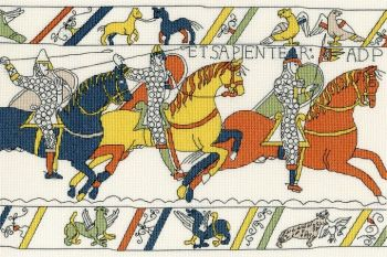 The Cavalry - Bayeux Tapestry Cross Stitch