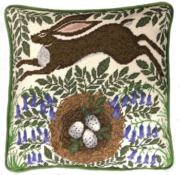 Spring Hare Tapestry - Bothy Threads