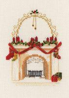 Fireplace - Christmas Card
