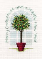 Holly Tree - Christmas Card