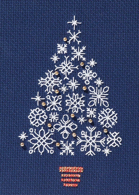 Snowflake Tree - Christmas Card