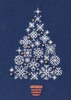 Snowflake Tree - Christmas Card