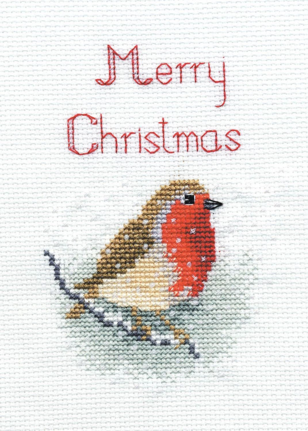 Snow Robin - Christmas Card