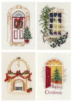 Home Collection Christmas Cards - Set of 4