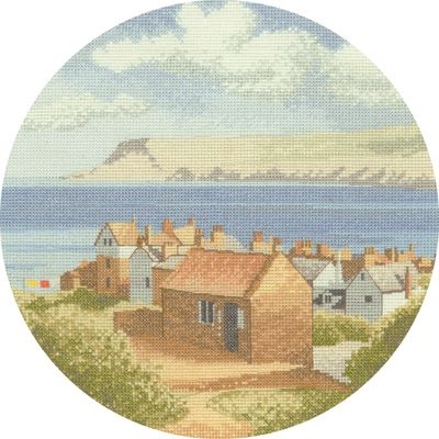 Coastal Village - John Clayton Circles Cross Stitch
